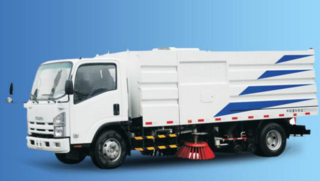 ISUZU Road Washer truck