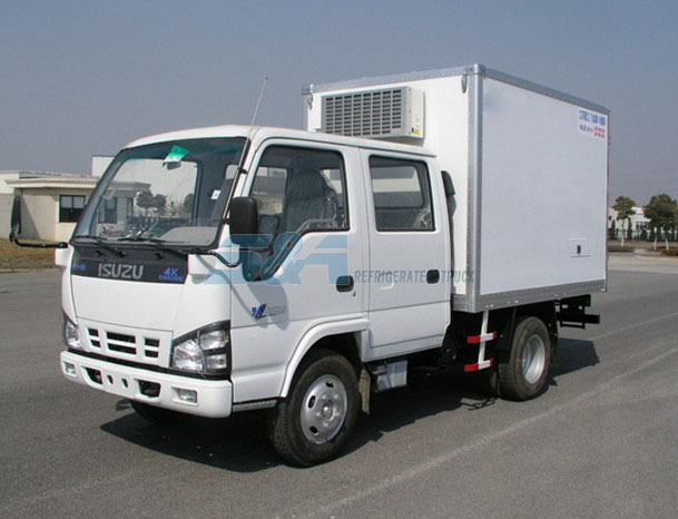 7.5 cubic meters of small cold chain transport truck