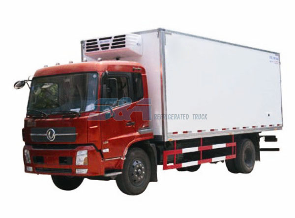 DongFeng TJ 180 HP refrigerated truck