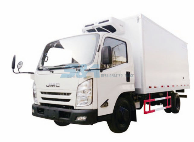 JMC KY 13.9 cubic meters refrigerated truck
