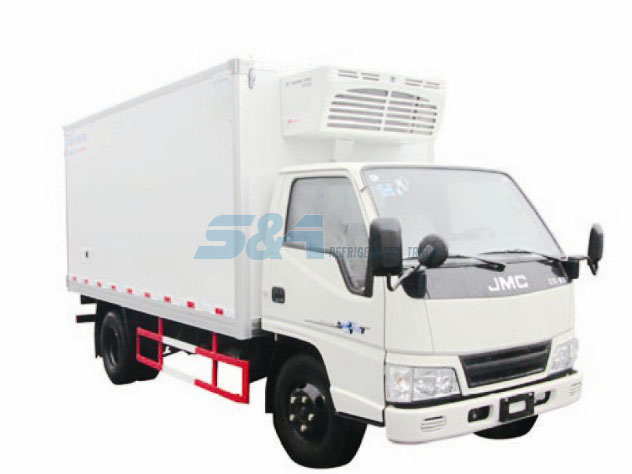 JMC 12.8 cubic meters 113hp cold chain transport truck