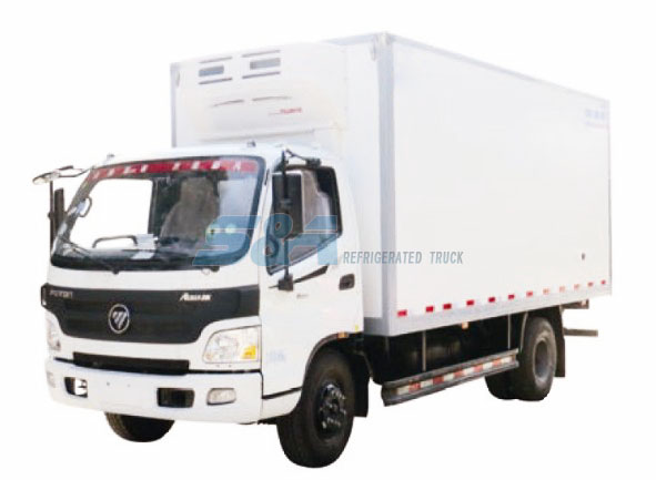 20.3 cubic meters 156hp FOTON refrigerated truck