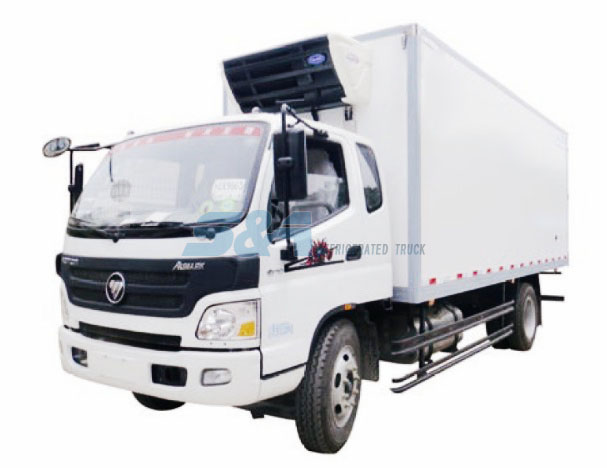 26.3 cubic meters 170hp FOTON refrigerated truck