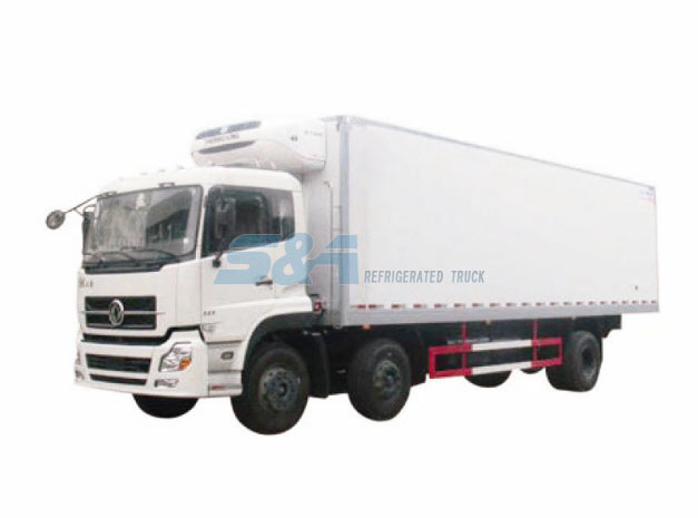 DongFeng TL 49.1 cubic meters refrigerated truck