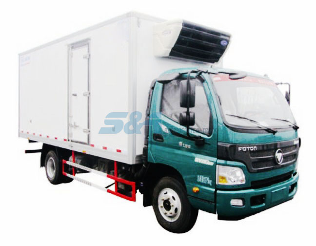 156hp 20.3 cubic meters FOTON refrigerated truck