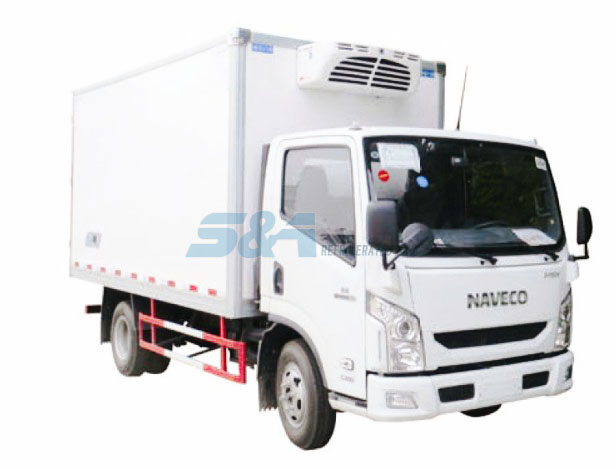 14.8 cubic meters NAVECO cold chain transport truck
