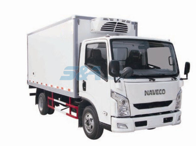 15.6 cubic meters NAVECO refrigerated truck