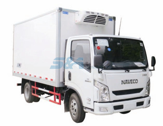 14.48 cubic meters NAVECO cold chain transport truck