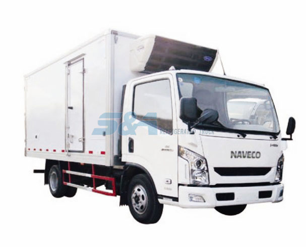 17.1-18.5 cubic meters NAVECO refrigerated truck