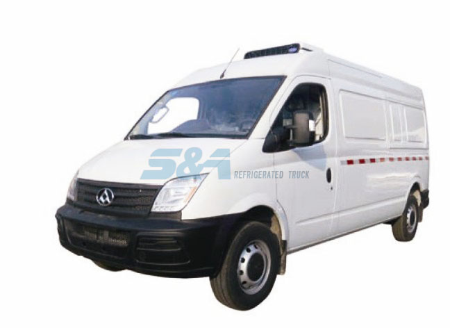 6.9 cubic meters MAXUS small refrigerated truck