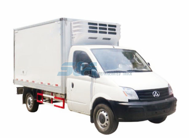 11.29 cubic meters MAXUS refrigerated truck