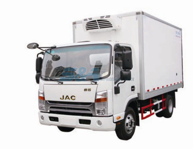 14.5 cubic meters 130HP JAC refrigerated trucks