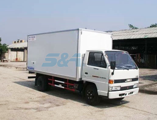 11.8 cubic meters JMC insulation truck